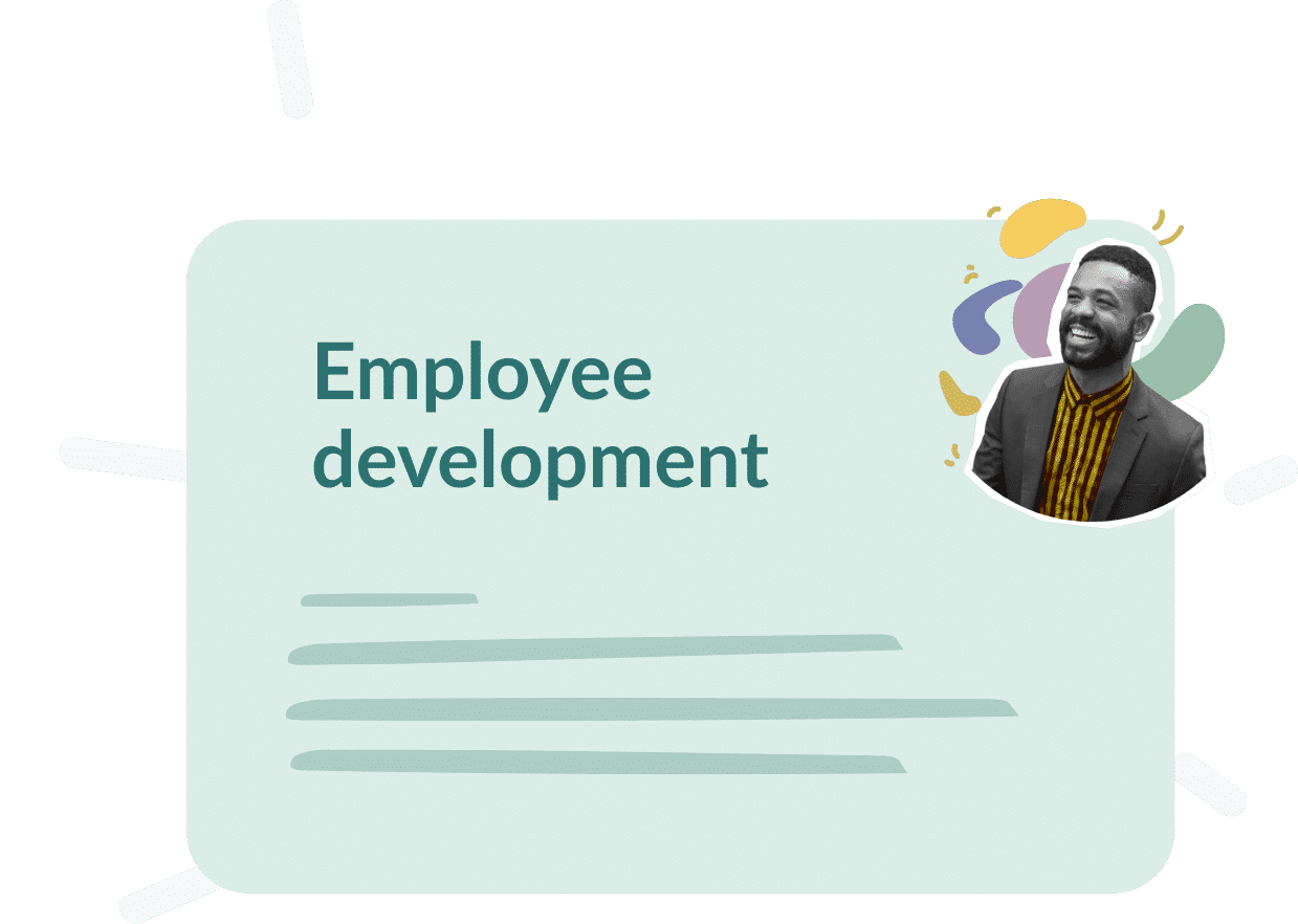 Use case : Employee Development, what goals ?