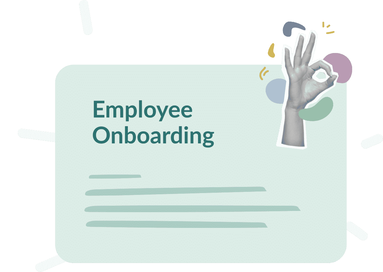 Use case : Employee Onboarding, what goals ?