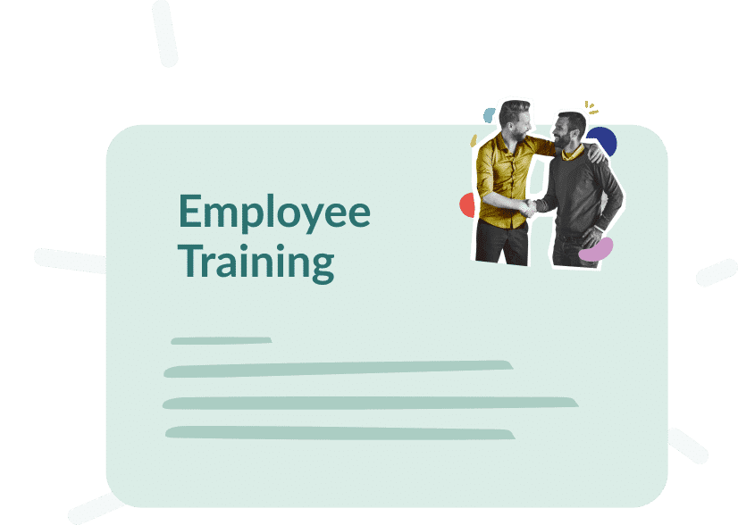 Use case : Employee training, what goals ?